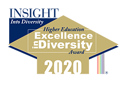 Higher Education Excellence in Diversity Award 2020 logo