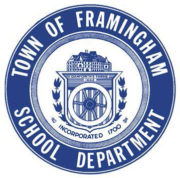 Town of Framingham School Department official seal
