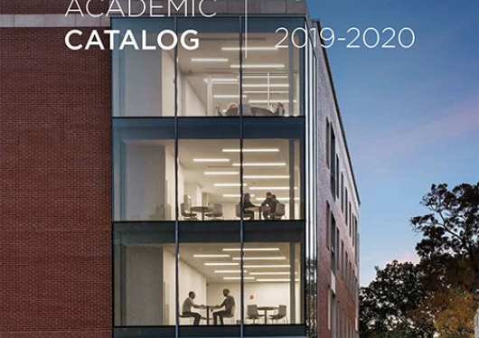 Regis Academic Catalog 2019-2020 cover