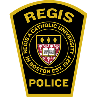 Regis College Police Department official patch
