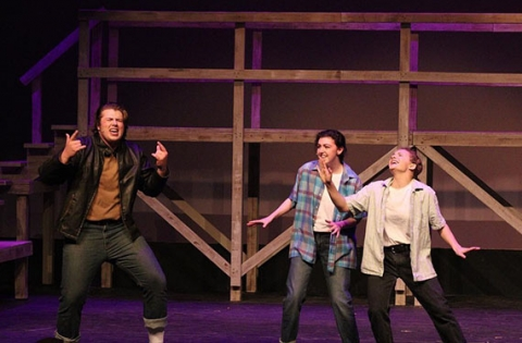 Photo of a performance of Footloose: the Musical at the Fine Arts Center