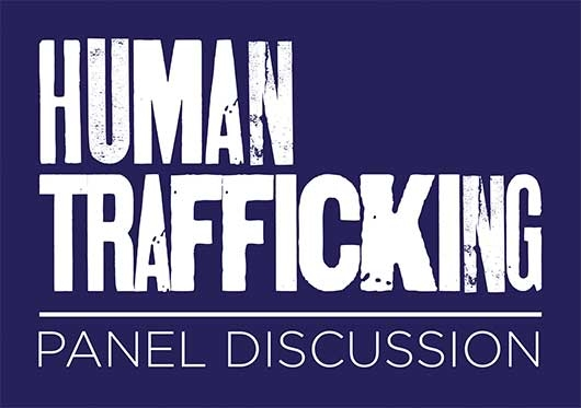 Human Trafficking event poster