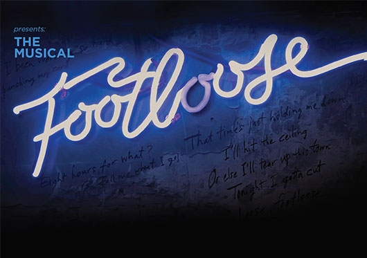 Footloose Musical Flyer at Regis College