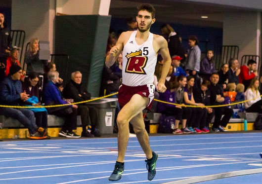 Male Runner Track and Field: Regis (Mass.)