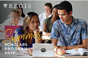 Regis Summer Scholars Program Brochure